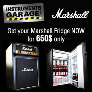 Get your Marshall Fridge Now for 650$ only!